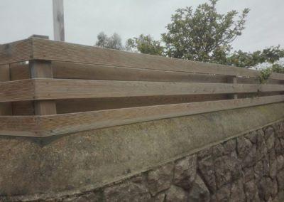 Cerramiento madera cantabria