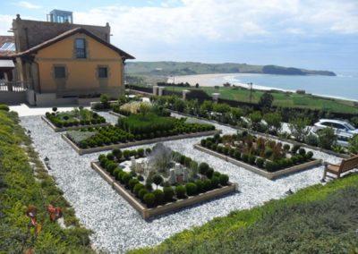 Diseño jardín cantabria