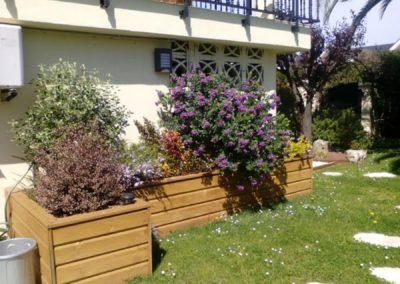 jardineras madera
